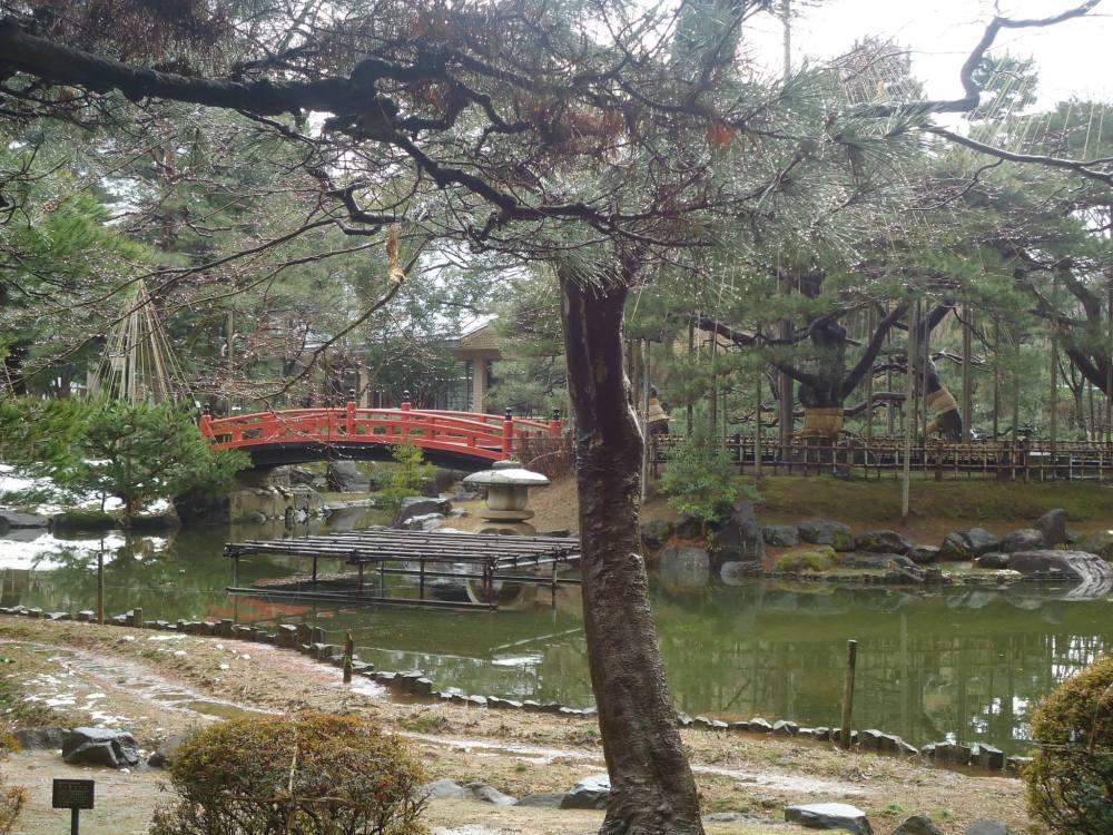 Park near Kurokuoen garden or Ishikawa train station.