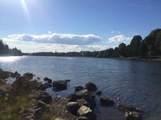 A peaceful corner to the north of Skansen.