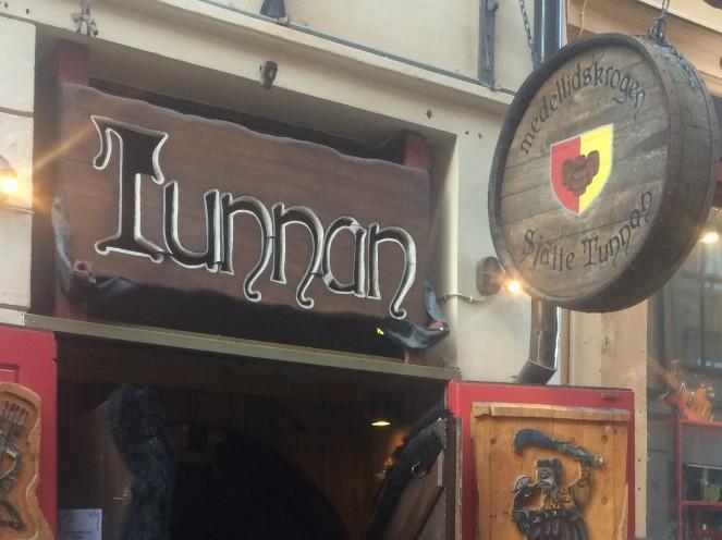 The Viking restaurant.